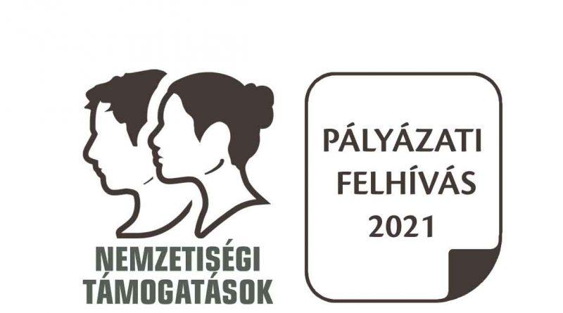 A nemeztiségi páláyázatok logója