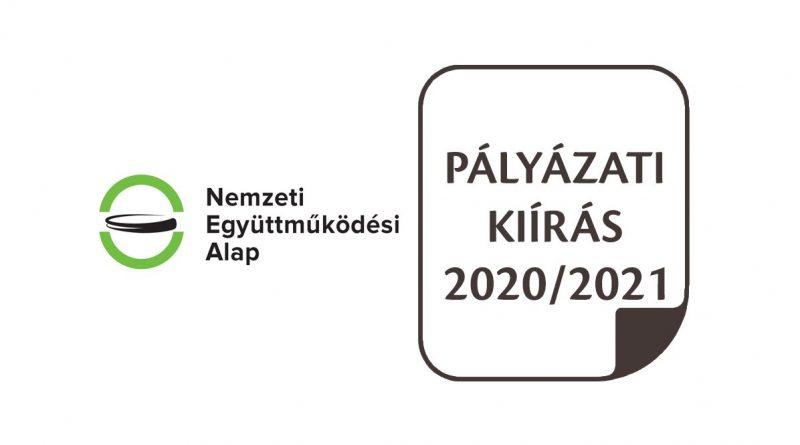 NEA pályázatok logó illusztráció