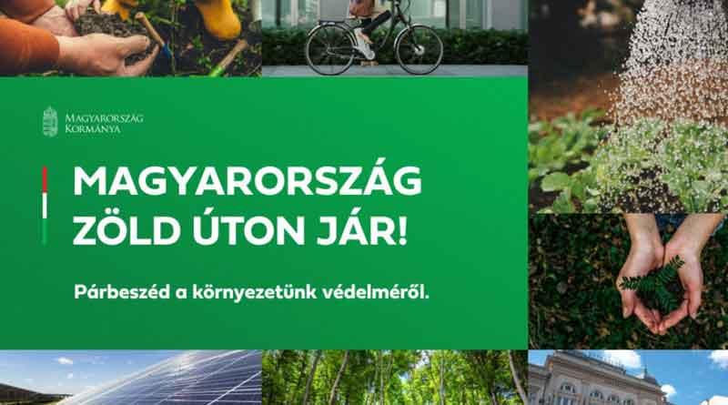 Magyarország zöld úton jár